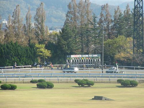 金沢競馬場の1700mスタート位置