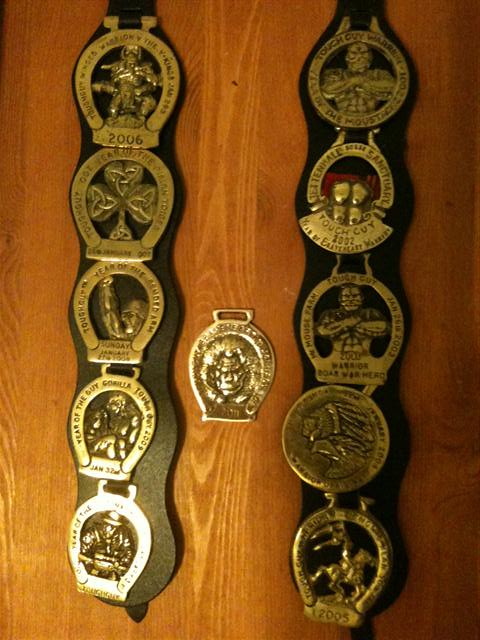 All Eleven Winter Toughguy Medals