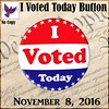 [ free bird ] I Voted Button Ad