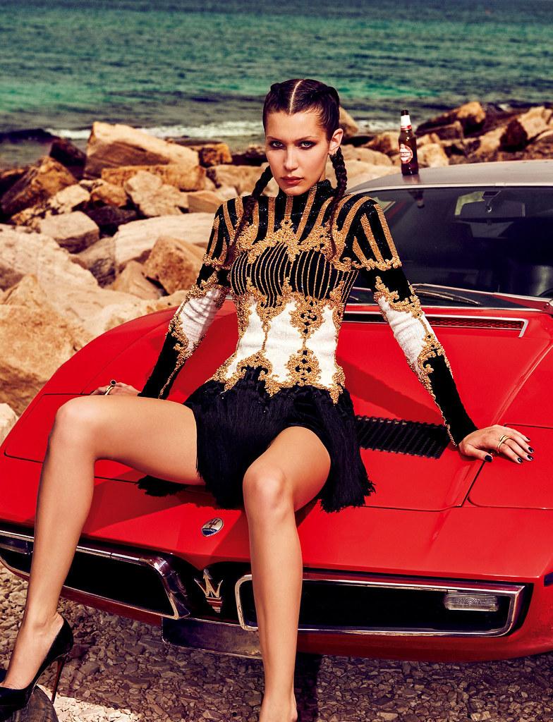 Белла Хадид — Фотосессия для «Vogue» JP 2016 – 14