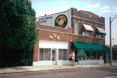 Sun Studio, where Elvis made his first recording, Memphis,Tennnessee