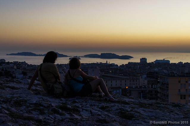 Anochece en Marsella