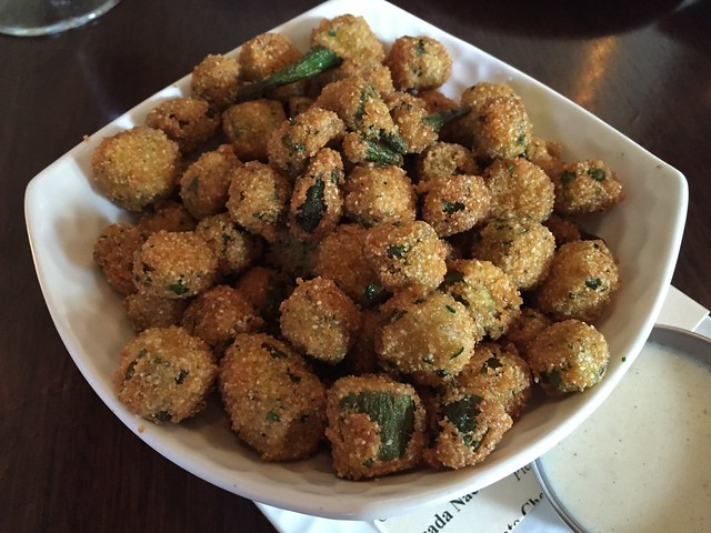 Fried okra - Eureka Restaurant and Lounge