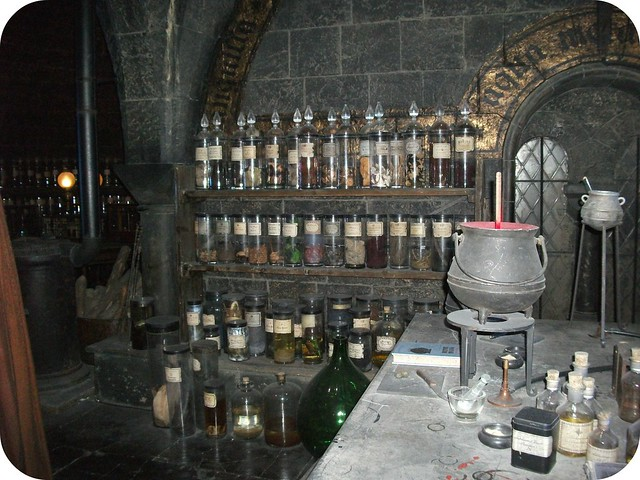 Potions Warner Bros Studio Tour London