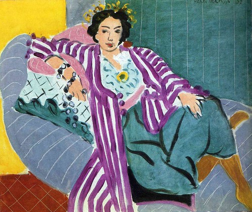 Henri Matisse, Small Odalisque in Purple robe, 1937
