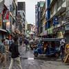 Sri-Lanka, Colombo, on the road