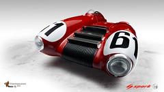 Nardi BD #61 Le Mans 1955