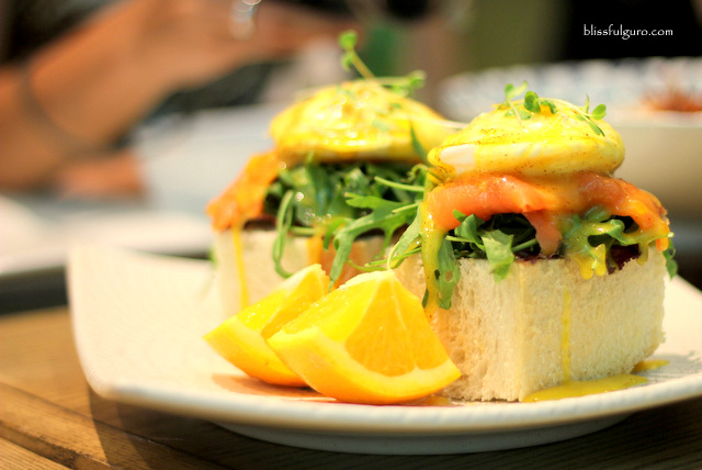 Museum Cafe Makati City M Benedict Smoked Salmon