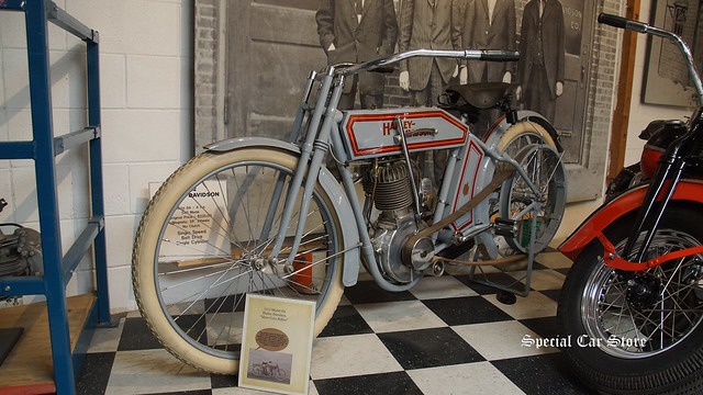 "1912 Harley-Davidson Model 8A ""Silent Grey Fellow"""