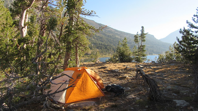 Backpacking Virginia Lakes to Green Creek