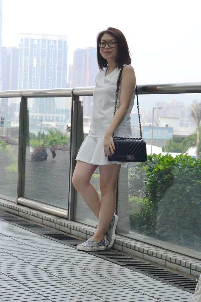 Daisybutter - Hong Kong Fashion Blog: Chanel Boy outfit post, outfits for my Chanel Boy