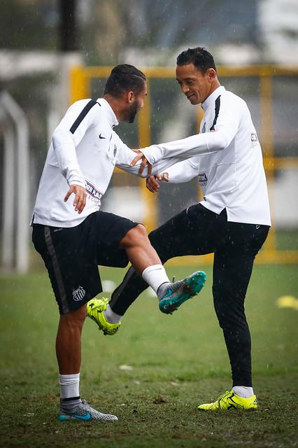 Thiago Maia e Ricardo Oliveira