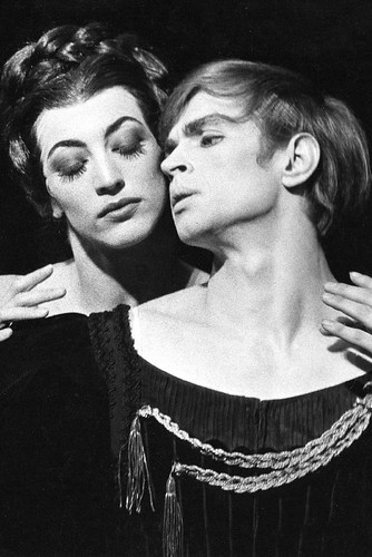 Rudolf Nureyev in action.