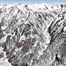 Mapa Mayrhofen - Ahorn