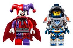 LEGO Nexo Knights Jestro & Clay