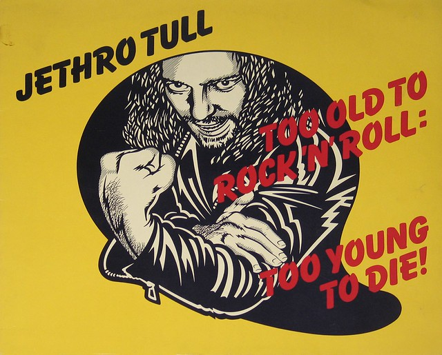 "Jethro Tull - Too Old To Rock 'n' Roll: Too Young to Die Green Label 12"" Vinyl LP"