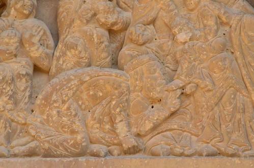 Biota (Aragon), San Miguel - sculpture romane - 04