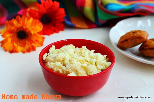 Home made Khoya
