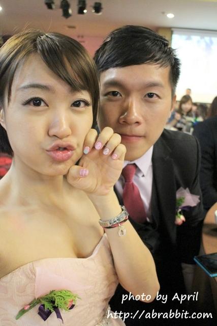 台北美甲|喬米時尚美學(喬米三店) 台北中山區,來個粉嫩嫩的婚禮款美甲吧!_兔兔的美甲日記