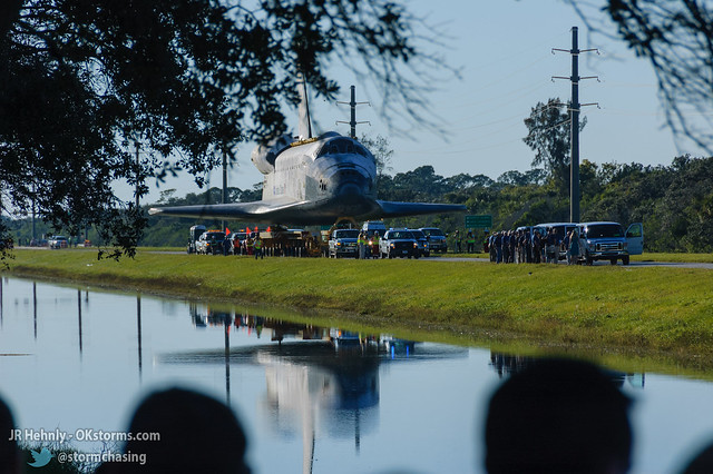 Fri, 11/02/2012 - 17:13 - Upon arriving at the Kennedy Space Center Visitor Complex, Atlantis was joined by a large group of astronauts representing all previous US space programs. - November 02, 2012 5:13:10 PM - , (28.5258,-80.6824)