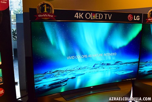 Worlds First Curved 4k Oled Tv Is Here Via Lg Philippines