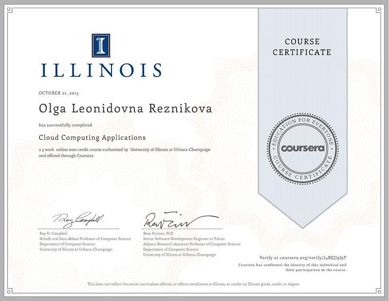 Coursera cloudapplications 2015