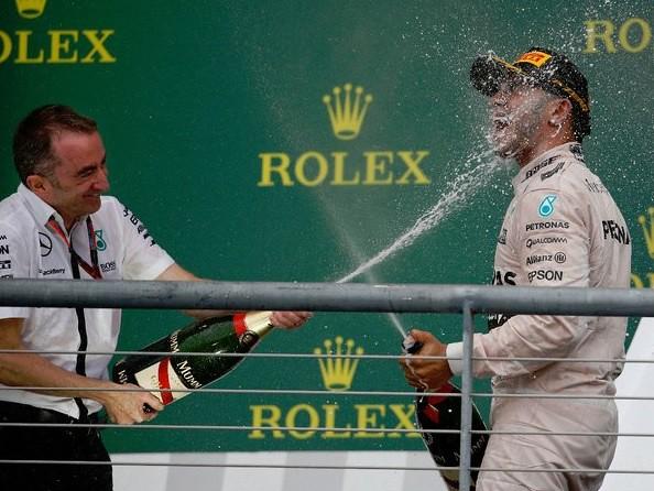 Hamilton busca primera victoria en el GP de México