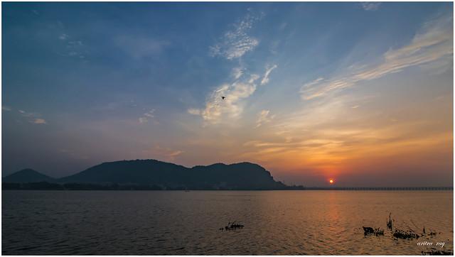 Sunrise at Bhavani Island
