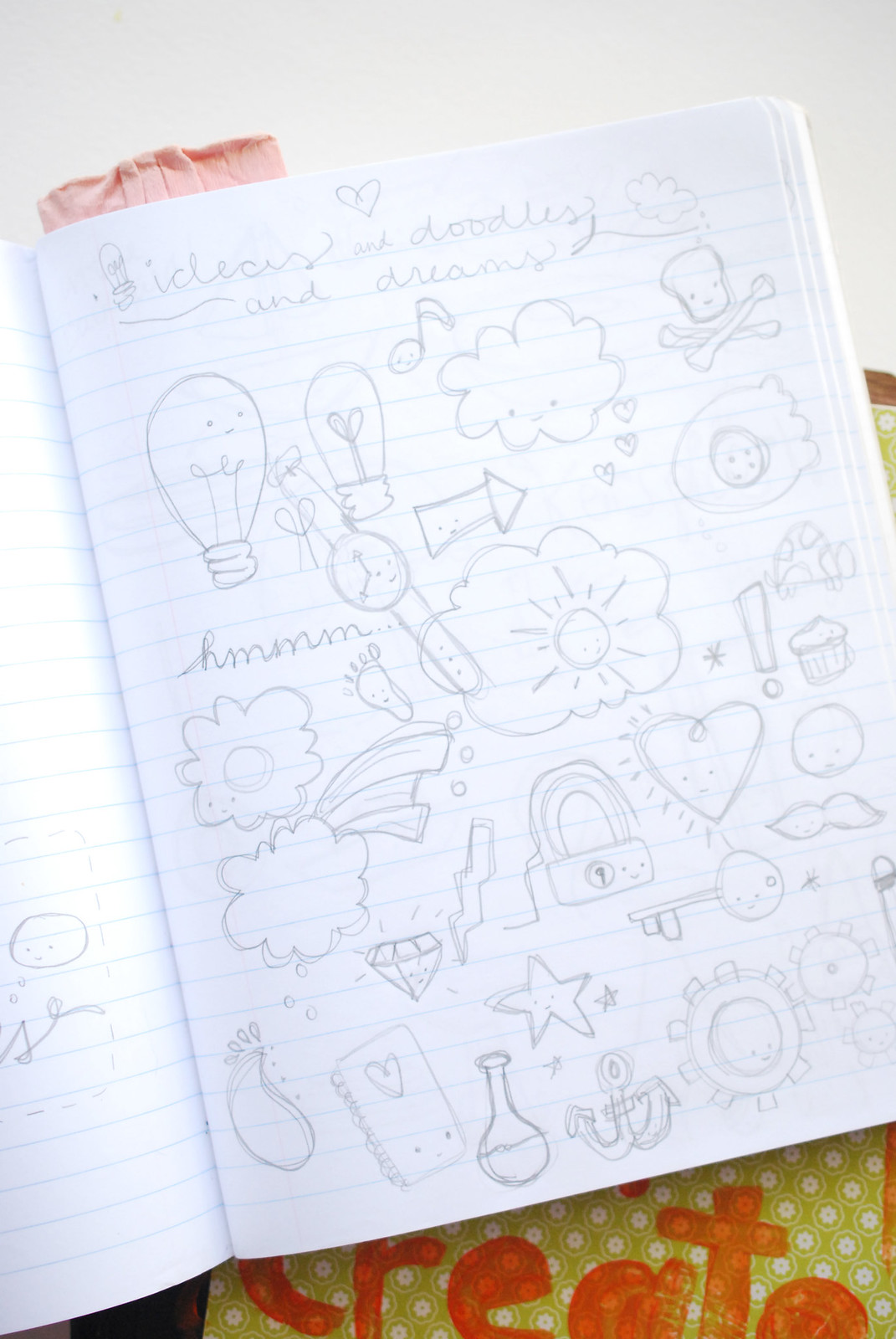 Idea Journals Through the Years