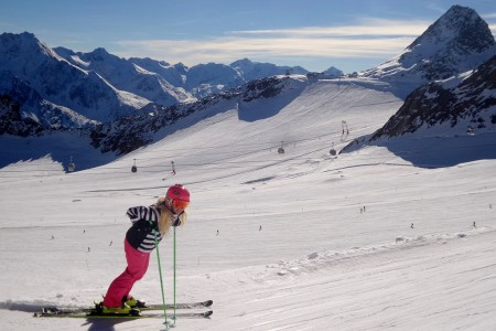 SNOWtour 2015/16: Sölden – počasí jako z obrázku
