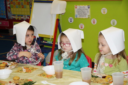 Pre-K Thanksgiving Feast 2015