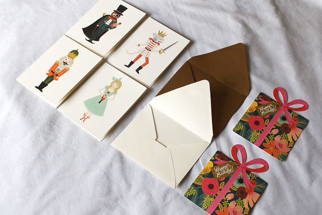 Rifle Paper Co and Paper Bunny Stationary Haul