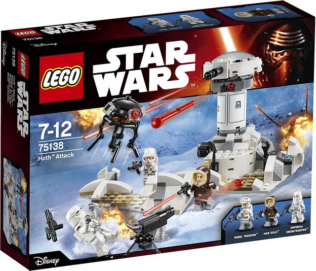 LEGO Star Wars 75138 - Hoth Attack