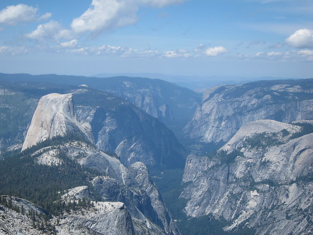 Half Dome and Yosemite Valley from Cloud's Rest