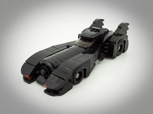 The Batmobile from the 1989 Batman film