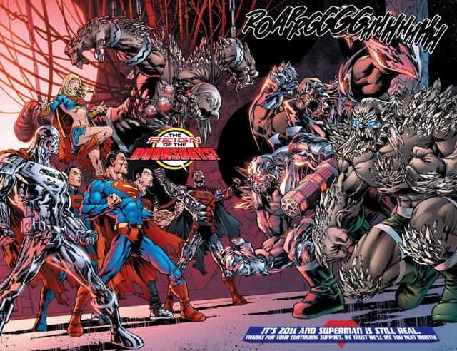 《蝙蝠俠對超人:正義曙光》裡面的恐怖怪獸反派「毀滅日」原作起源介紹