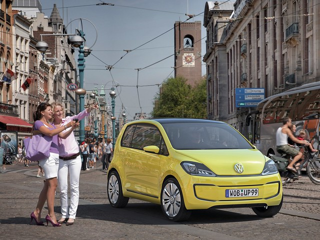 Volkswagen e-up! Concept. 2009 год