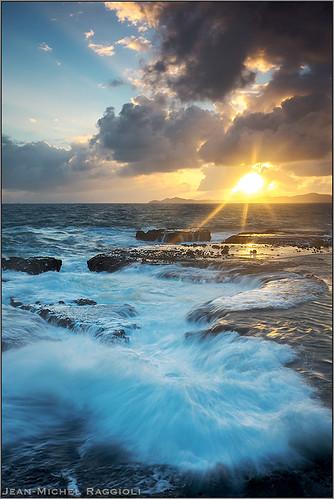 seascape sunrise martinique caribbean ourplanet