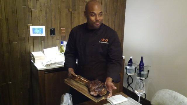 Chef de Cuisine, Gerald Sombright, ARIO