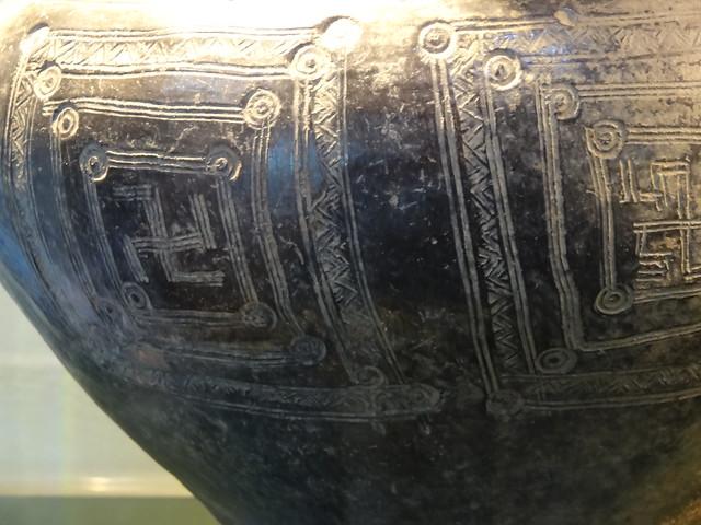 Detail, Etruscan jug, Arezzo