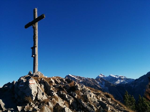 Gipfelkreuz Kühwiesenkopf, Pragsertal