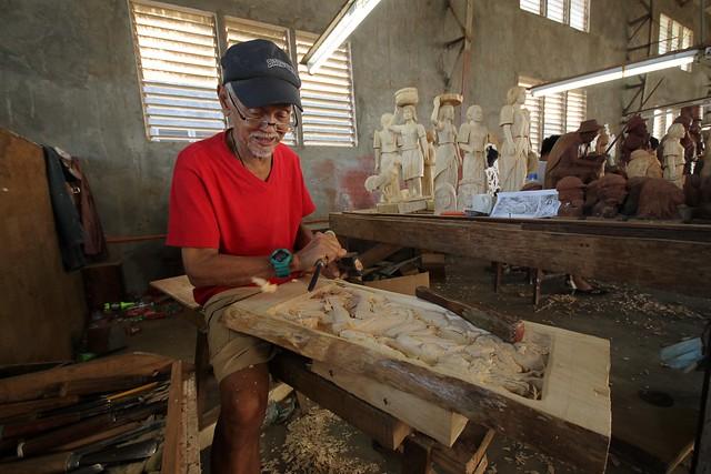 Celestino Fadul, Artisan at Las Casas de Acuzar