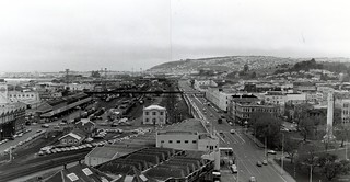 View of Cumberland Street area 1972