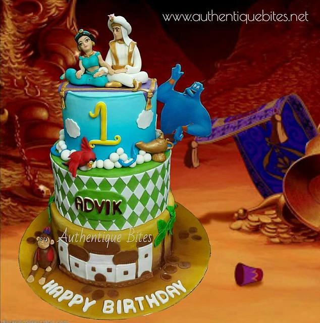 The Aladdin Adventure Cake by Nekta Bagai of Authentique Bites