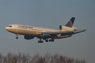 Continental Airlines McDonnell Douglas DC-10-30 N13066