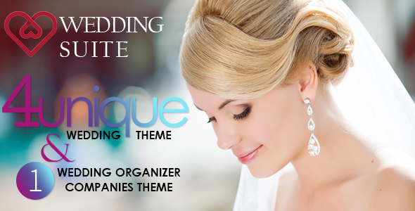 Wedding Suite v2.3.0 - WordPress Wedding Theme