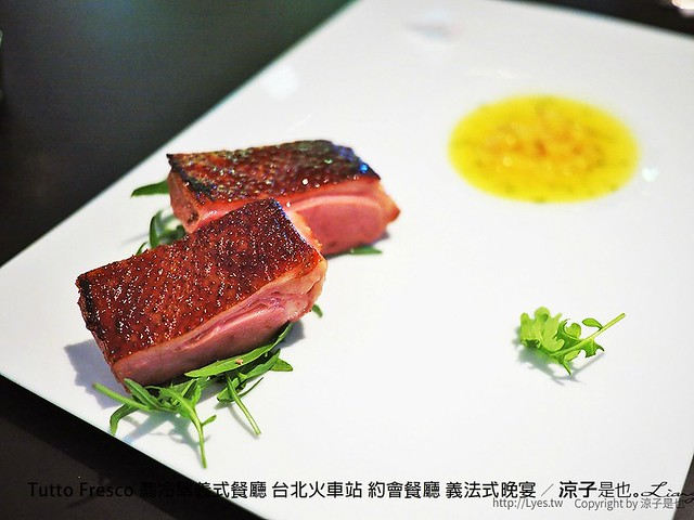 Tutto Fresco 翡冷翠義式餐廳 台北火車站 約會餐廳 義法式晚宴 29