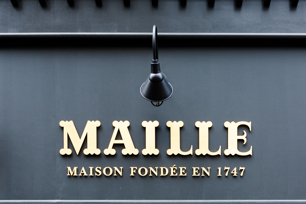 La Maison Maille in the Flatiron District of NYC