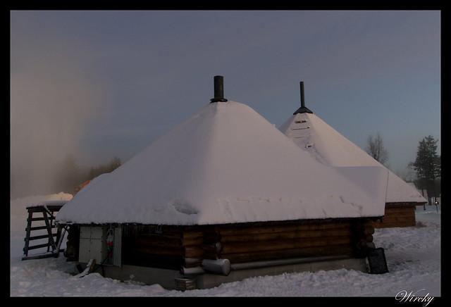 Excursiones Laponia finlandesa invierno - Restaurante kota