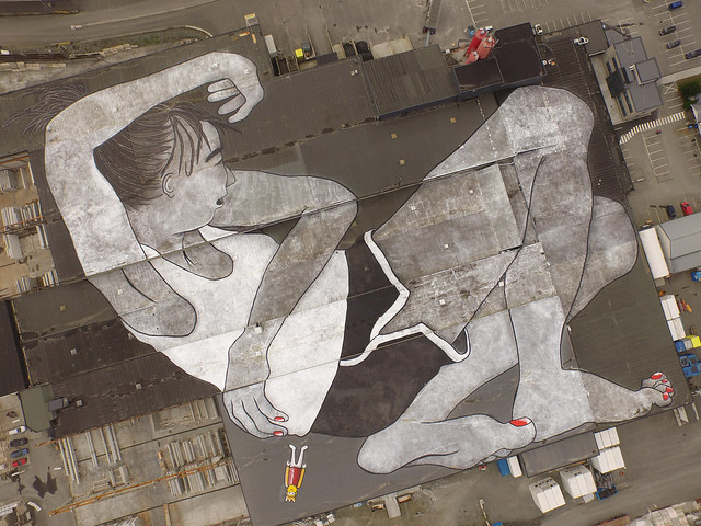 Norway Becomes Home to the 'World's Largest Outdoor Mural'